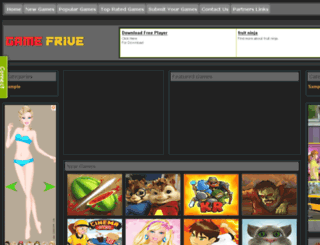 gamefrive.com screenshot