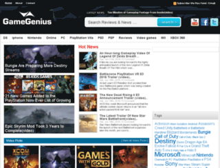 gamegeniuses.com screenshot