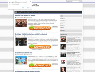 gamegratis45.blogspot.com screenshot
