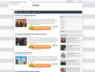 gamegratis45.blogspot.ru screenshot