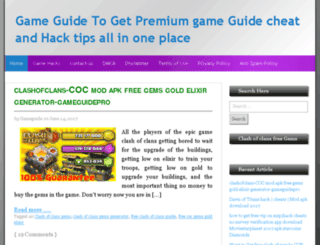 gameguide.pro screenshot