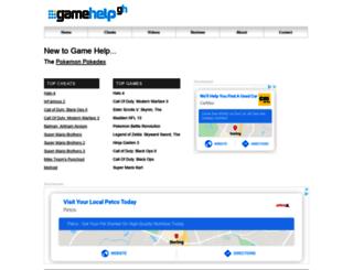 gamehelp.com screenshot