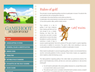 gamehoot.com screenshot