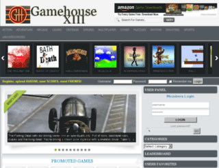 gamehouse-xiii.com screenshot