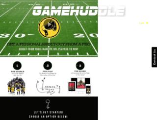 gamehuddle.myshopify.com screenshot