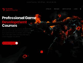 gameinstitute.com screenshot