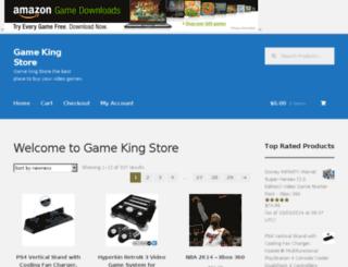 gamekingstore.com screenshot