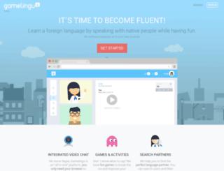 gamelingu.com screenshot