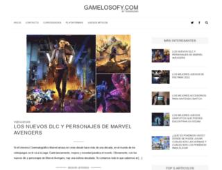 gamelosofy.com screenshot