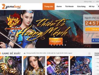 gamelumi.com screenshot