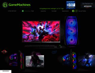 gamemachines.de screenshot
