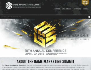 gamemarketingsummit.com screenshot