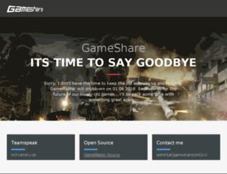 gamemaster.gameshare.co screenshot