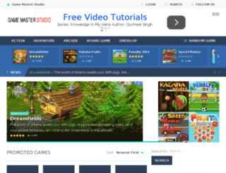 gamemasterstudio.net screenshot