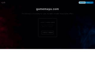 gamemaya.com screenshot