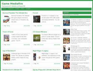 gamemediafired.blogspot.com screenshot