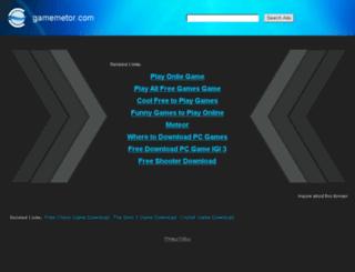 gamemetor.com screenshot