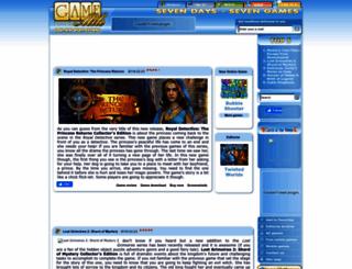 gamemile.com screenshot