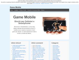 gamemobile.it screenshot