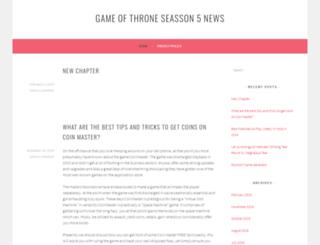 gameofthronesseason5news.com screenshot