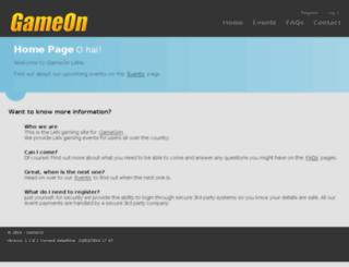 gameonlan.azurewebsites.net screenshot