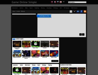 gameonlinesimple.blogspot.co.id screenshot