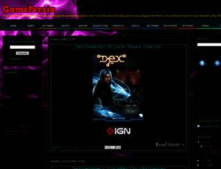 gamepersia.blogspot.in screenshot