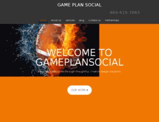 gameplansocial.co screenshot