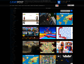 gamepost.com screenshot