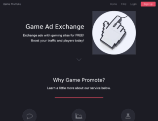 gamepromote.com screenshot