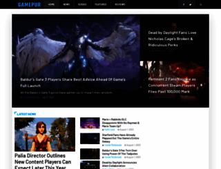 gamepur.com screenshot