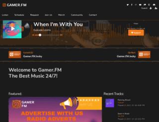 gamer.fm screenshot