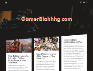 gamerblahhhg.com screenshot