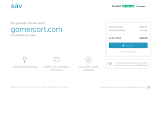 gamercart.com screenshot