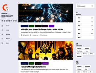 gamercast.net screenshot