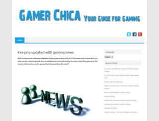 gamerchica.com screenshot