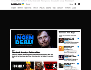 gamereactor.se screenshot