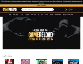 gamereload.co.uk screenshot