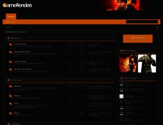 gamerenders.com screenshot