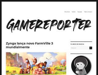 gamereporter.com.br screenshot