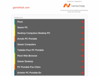gamerflock.com screenshot
