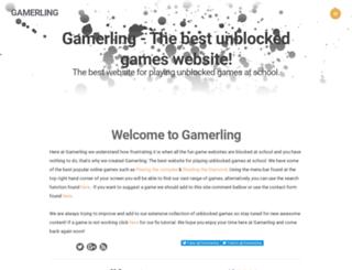 gamerling.weebly.com screenshot
