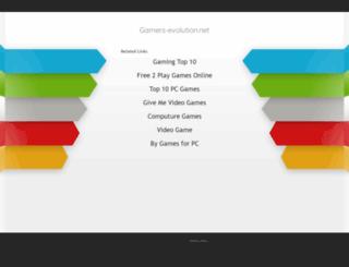 gamers-evolution.net screenshot