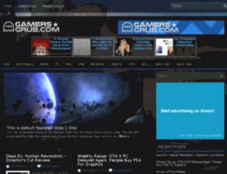 gamers-grub.com screenshot