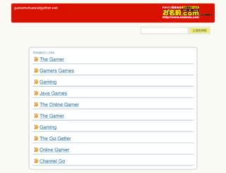 gamerschannelgetter.net screenshot
