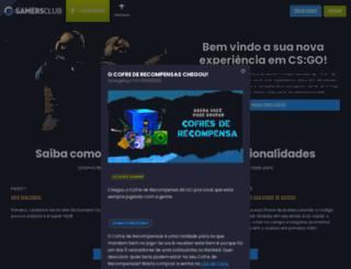 gamersclub.com.br screenshot