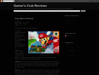 gamersclubreviews.blogspot.com screenshot