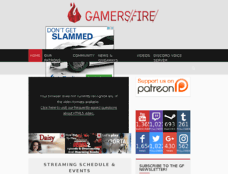 gamersfire.com screenshot
