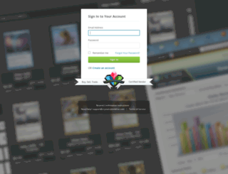 gamersgambit-admin.crystalcommerce.com screenshot