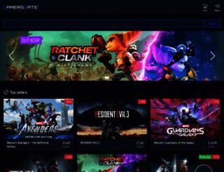 gamersgate.co.uk screenshot